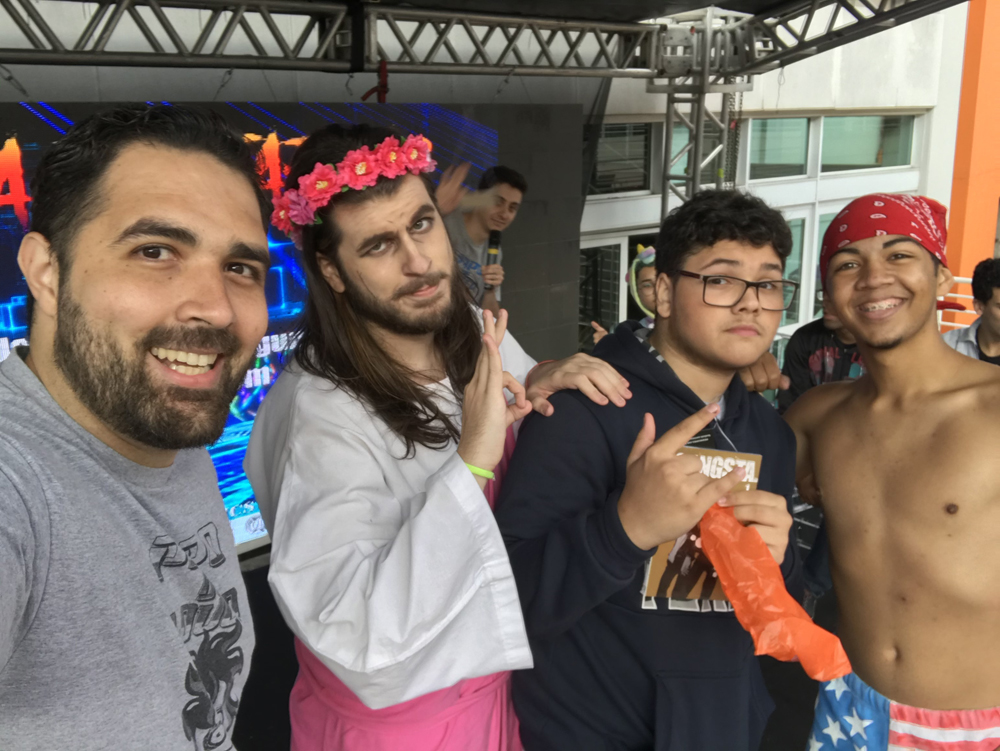 Ricardo Milos e Jesus Rosa