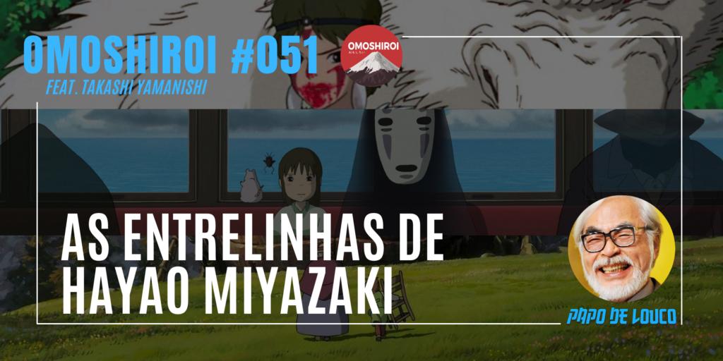 capa omoshiroi entrelinhas hayao miyazaki
