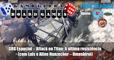 Attack on Titan a última resistência